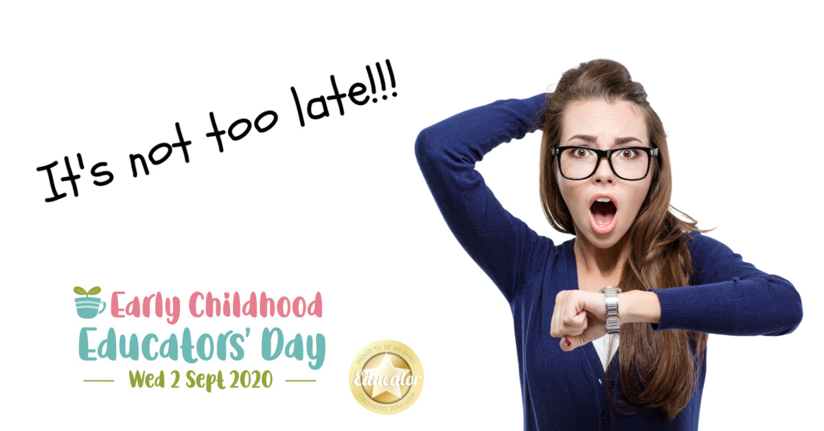 There's still time to celebrate Early Childhood Educators' Day!